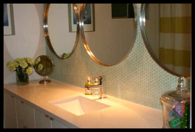 Fit Crafty Stylish And Happy Guest Bathroom Makeover: After: House Makeover Special