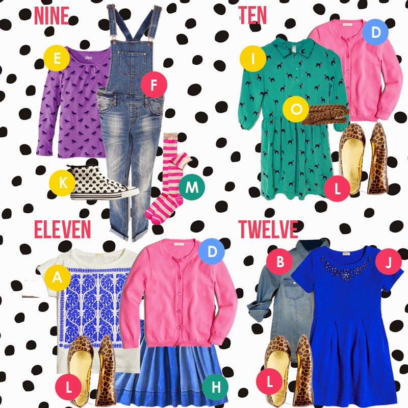 Back To School For Girls In 15 Items