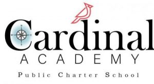 The Cardinal Academy Logo. A compass rose in a letter C and a red cardinal.