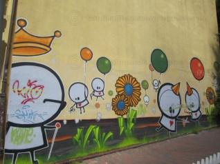 Grafitti in Urtegata