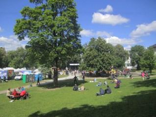 Environment Festival, Sofienberg Park.