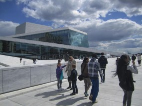 Oslo Opera house. A motive that I've posted several photos of earlier.