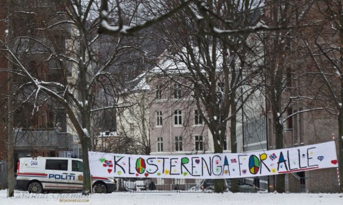 """Klosterenga for everyone"" (except people who don't like islam)"