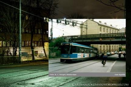 Oslo Gate, Gamlebyen 1983. Photo: R. C. Voogel