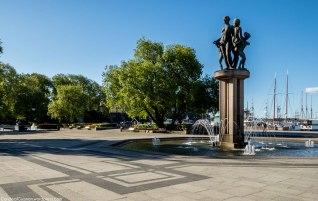 Fountain @ Rådhuskaia.