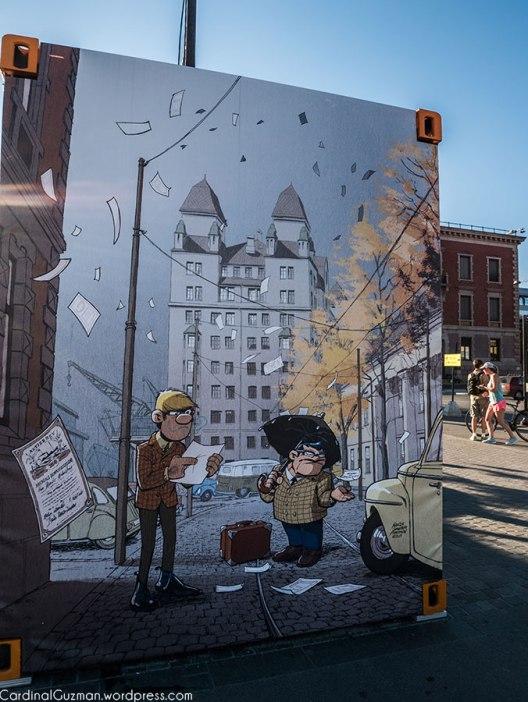 Street art in Bjørvika