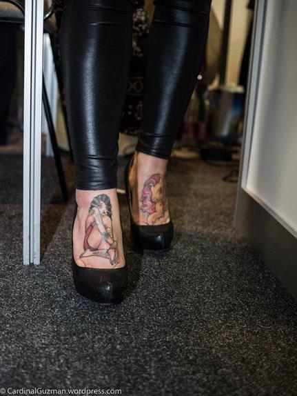 Model: Adrienn. Tattoos: Zsófia.