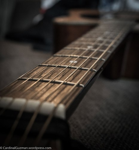 One of my guitars.