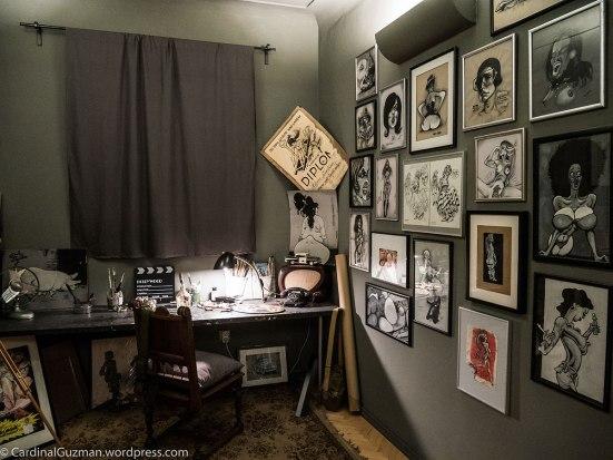 Kája Saudek's studio