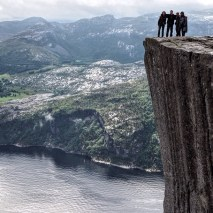 Nice view from Preikestolen.