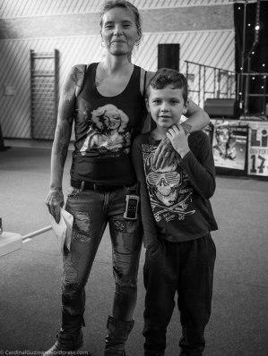 Ingrid Mutschler & son.