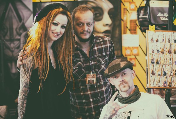 Linas Tattoo Convention with Shelly & Sweakr. Photo: Bastian Perche
