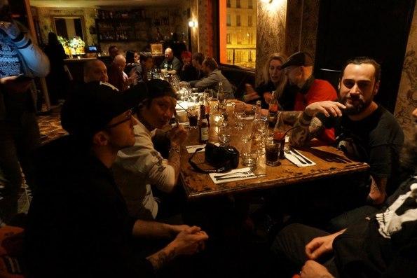 Tattoo party at Bus Palladium in Paris. Photo: Natcha Plainche