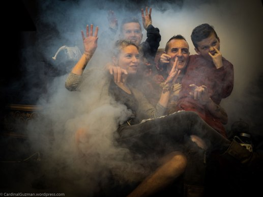 Ingrid & Grisha with family.