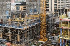 Construction vis-avis Oslo Opera