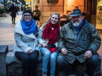 Giada, Valentina & The Finnish Guy