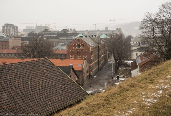 View from Akershus Fortress