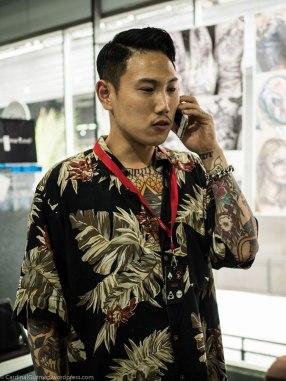 Always happy to meet Korean tattoo artist Ru Hwan