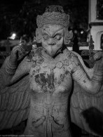 Outside Wat Arun. You don't want to mess with female demons.
