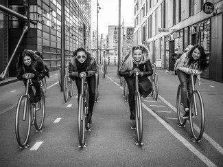 The Bikes in Bjørvika / Barcode, Oslo