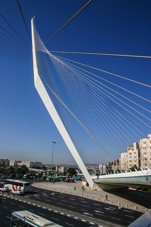 Chords Bridge, גשר המיתרים, Gesher HaMeitarim.