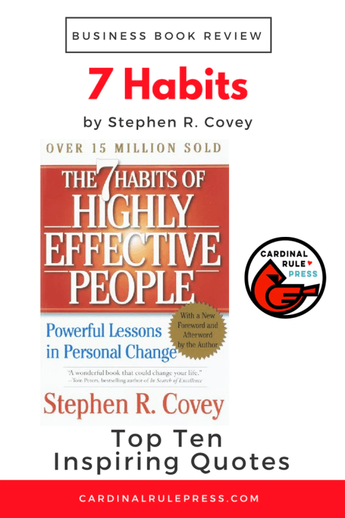 Business Book Review-The 7 Habits of Highly Effective People - cardinalrulepress.com