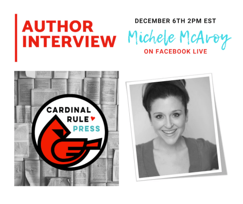 Author Interview With Michele McAvoy - cardinalrulepress.com
