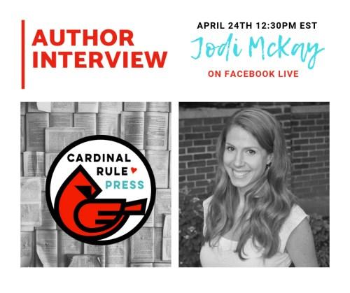 Author Interview Jodi McKay - cardinalrulepress.com