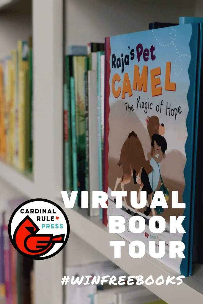 "{Win FREE Books} Virtual Book Tour: Raja's Pet Camel - Raja's Pet Camel is a story that was written by Anita Amin, an Indian American and illustrated by Parwinderr Singh, who was born in and still resides in India. Raja means ""king"" in Hindi and he feels like a king with his haughty pet camel Kamal, even if she wants to rule instead. #VirtualBookTour #RajasPetCamel #BooksToRead #WinFreeBooks"