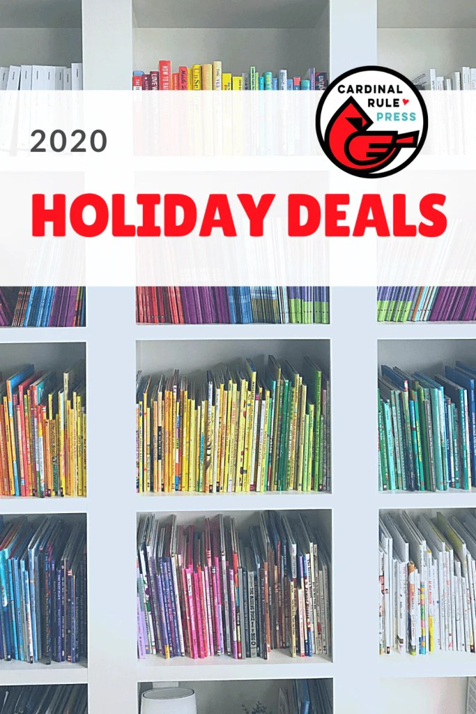 Holiday Deals & Discounts {Picture Books & More} - Our team at Cardinal Rule Press has put together some gift guides to take the work out of it for you. #HolidayDeals #HolidayDiscounts #GiftGuides