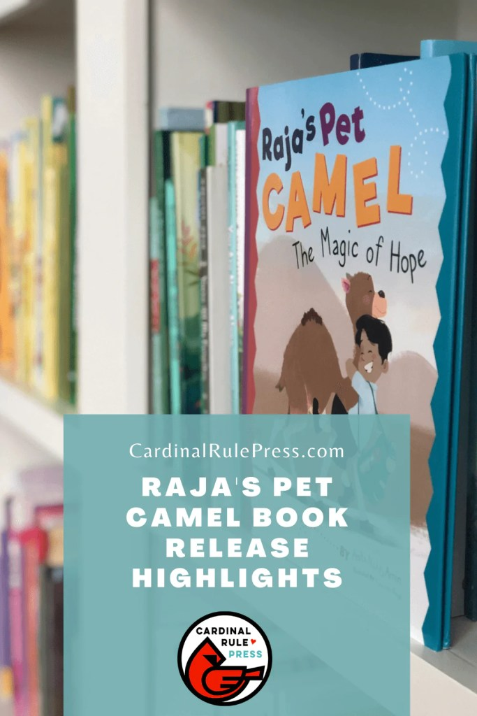 Raja's Pet Camel Book Release Highlights. Raja's Pet Camel by Anita Amin, illustrated by Parwinder Singh was released on October 1st, 2020. The release kicked off online with close to 100 people tuning into the very first LIVE reading. #BookRelease #ReleaseHighlights #BookLaunch