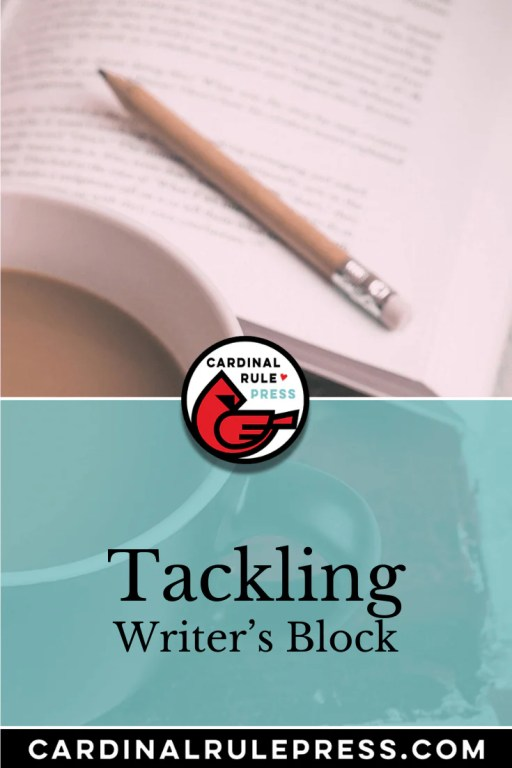 Tackling Writer's Block. Five things that can help you back on your creative path. #WritersBlock #Writing #WriteABook