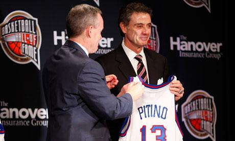University of Louisville's head coach Rick Pitino