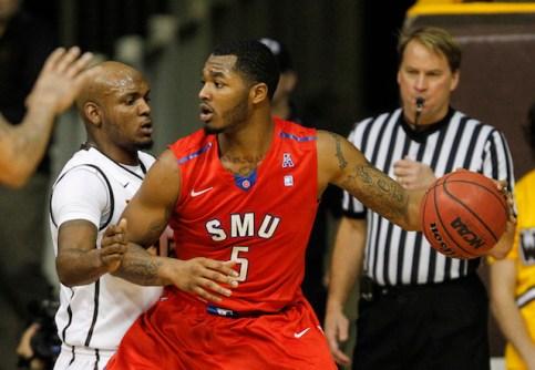 NCAA Basketball: Southern Methodist at Wyoming