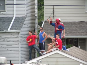 Even Spiderman loves the Cards