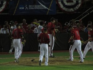 Cards rally around their pitcher
