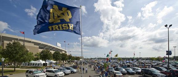 NCAA Football: Michigan State at Notre Dame