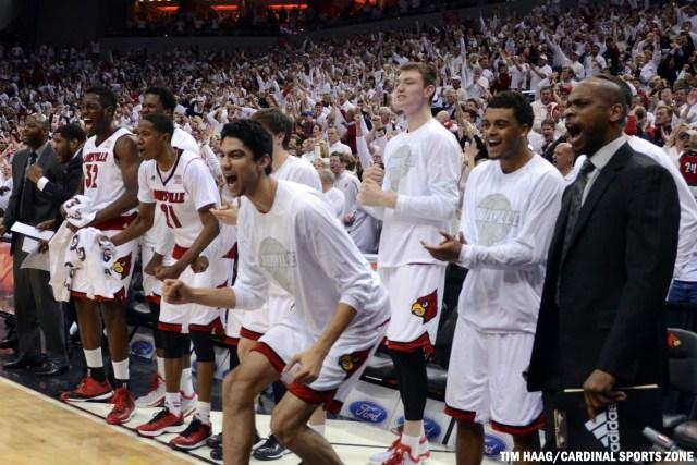 Louisville Basketball UNC