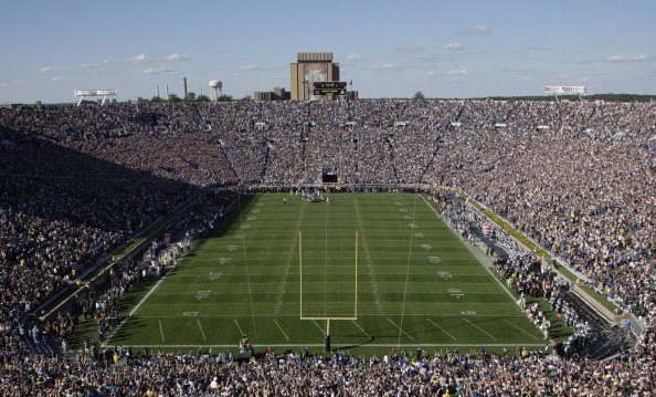 Notre Dame End Zone
