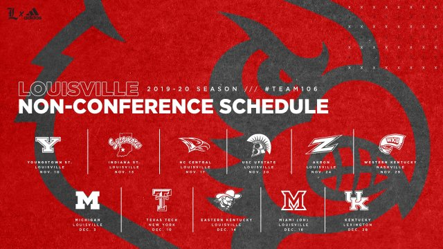 2019 Non-conference Schedule