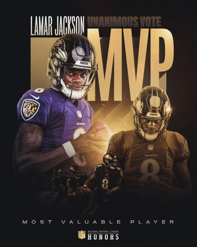 Lamar Jackson MVP