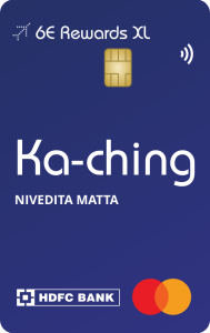 6E Rewards XL Indigo HDFC Credit Card