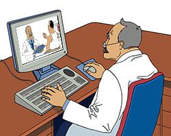 Redes sociales en medicina