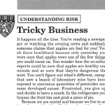 Understanding Risk: Tricky Business