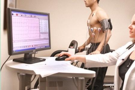 prueba de esfuerzo, prueba de resistencia o ergometria
