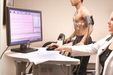 prueba de esfuerzo o ergometria