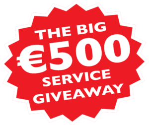 The Big €500 Service Giveaway