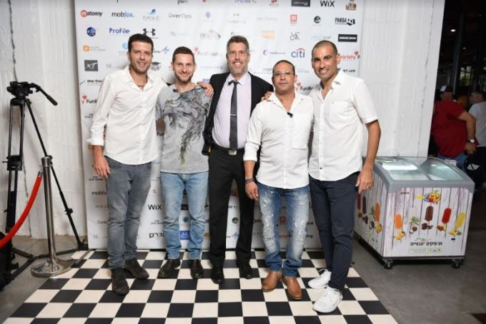 Israel charity poker team organizers