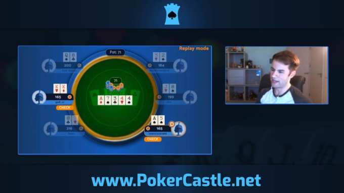 Poker Castle session