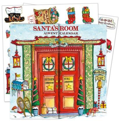 santas room advent calendar